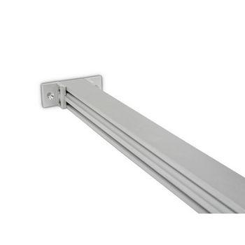 Hafele 21C Sta-Pole System Ceiling Connector, Aluminum Matt, 2-pieces