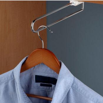 Hafele Telescopic Closet Or Wardrobe Valet Rod