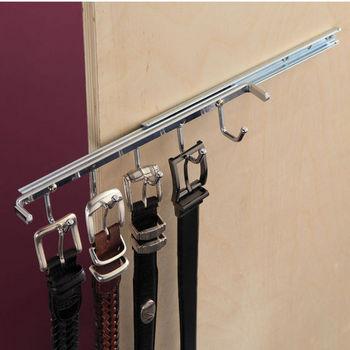 Belt Rack with Single Extension Slide