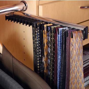 Hafele Synergy Collection Telescopic Tie Rack