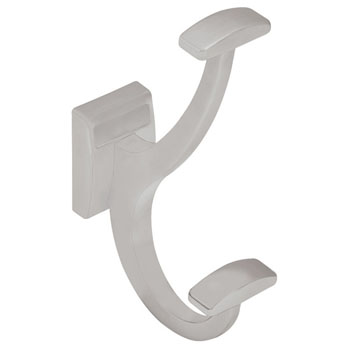 "Hafele ""Synergy Elite"" Collection Coat Hook, Matt Aluminum"