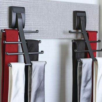 "Hafele ""Synergy Elite"" Collection Tie Hook for 8 Ties"