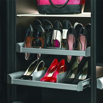 Hafele Engage Pull-Out Closet Shoe Organizer