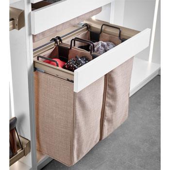 Hafele Engage Pull-Out Laundry/Pant Rack Closet Frame
