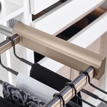 Hafele Engage Laundry/Pant Rack Pull-Out Frame, Matt Gold