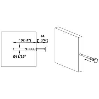 Hafele Synergy Valet Pin