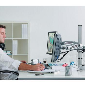 Hafele Ellipta Monitor Arms for Flat Screens