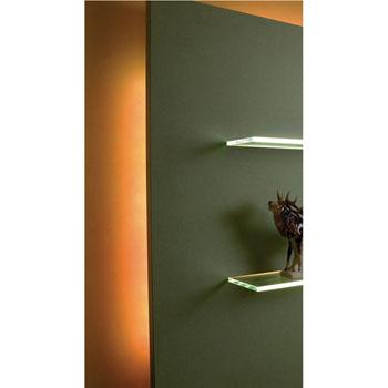 """Hafele LOOX 12V #2042 Flexible LED Strip Light with 300 LEDs, Orange, 5m (196-7/8"""") Length"""
