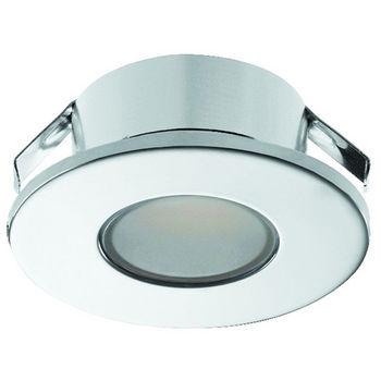Hafele LOOX 12V #2022 Recess Mounted Round LED Mini Puck Light with 3 LEDs