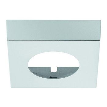 Hafele LOOX #2025-2026 Square Surface Mounted Trim Ring, Silver
