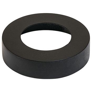 Hafele LOOX #2025/2026 Round Surface Mounted Trim Ring, Black