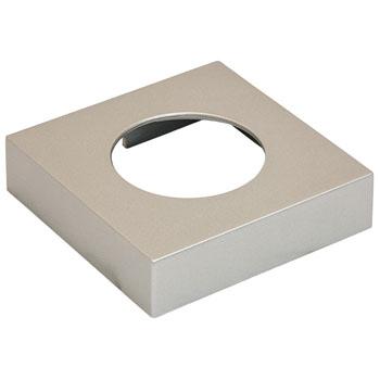 Hafele LOOX #2025/2026 Square Surface Mounted Trim Ring, Nickel Matt