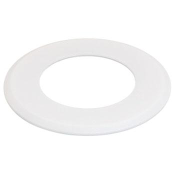 Hafele LOOX #2025/2026 Round Recess Mounted Trim Ring, White