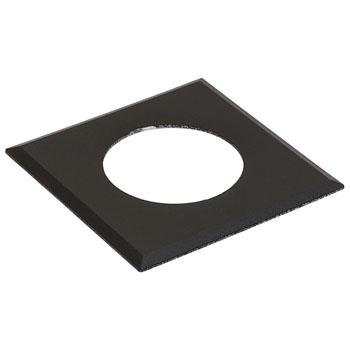 Hafele LOOX #2025/2026 Square Recess Mounted Trim Ring, Black