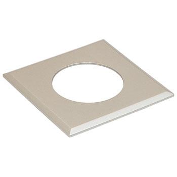 Hafele LOOX #2025/2026 Square Recess Mounted Trim Ring, Nickel Matt