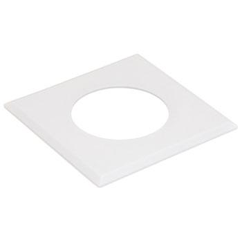 Hafele LOOX #2025/2026 Square Recess Mounted Trim Ring, White