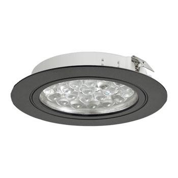 Hafele Loox 24V LED #3001 Recess Mounted Round Light