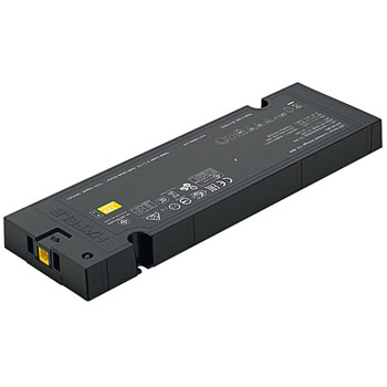 """Hafele Loox5 Constant Driver 100-240V, 12 V, 40 Watts, with Power Factor Correction, 191mm x 60mm 16mm (7-1/2"""" W x 2-3/8"""" D x 5/8"""" H)"""