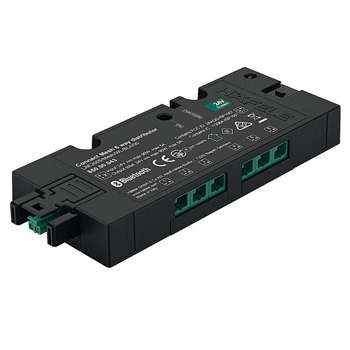 Connect Mesh 6-Way Distributor with Switching Function, Black