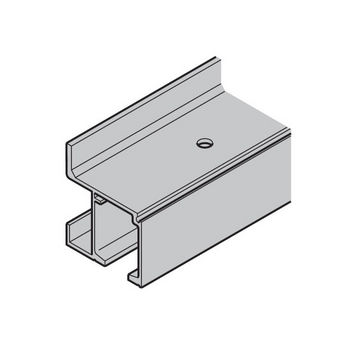 Hafele Single Upper Track, Wall Mounted