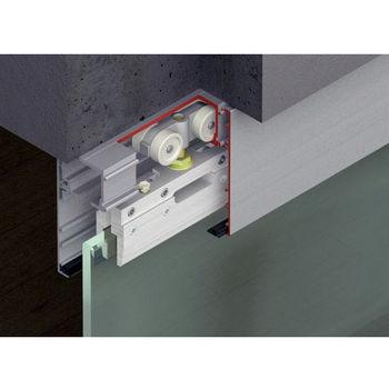 Sliding Door Hardware Hafele Porta 100 G Fitting Set Top