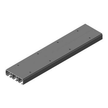 "Hafele Divido 100 GRM Triple Upper Running Track, 3.5 m (11' 5-25/32"") length, 111mm W x 31mm D (4-3/8""W x 1-1/4""D), Aluminum"