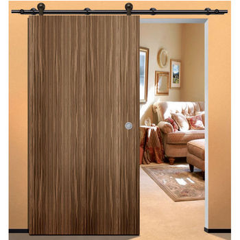 Hafele Antra II with Solid Stainless Steel Track - Sliding Wood Barn Door Hardware