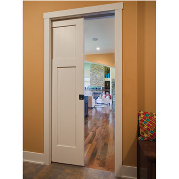 Hafele Slido Classic 40-P - Sliding Wood Door Hardware, Top Hung System