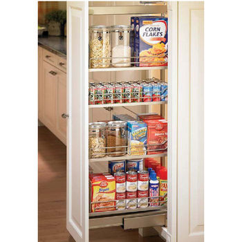 Hafele Dispensa Pantry Pull Out Full Extension Frame Champagne Finish Diffe Sizes Available