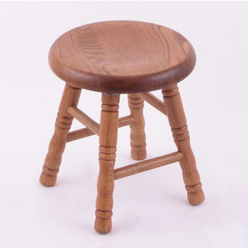 Holland Stoutmeister Commercial Saddle Dish Seat Bar Stool with Oak Finish