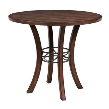 Hillsdale Furniture Cameron Wood Round Dining Table