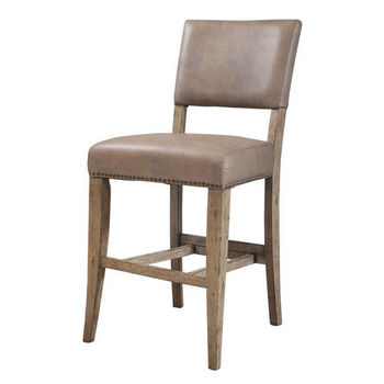 Hillsdale Furniture Charleston Parson Non-Swivel Stools, Set of 2