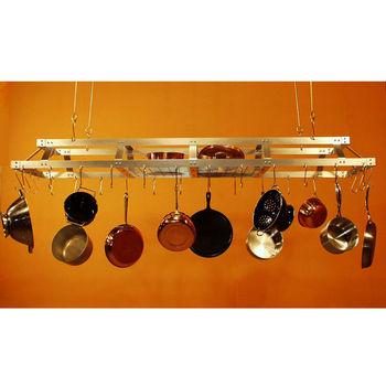 Pot Racks Commercial Hanging Pot Rack Stainless Steel