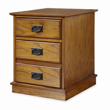 Home Styles Modern Craftsman Mobile File, Distressed Oak and Deep Brown