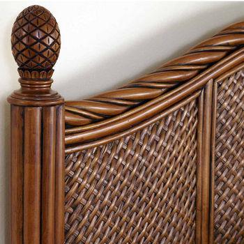 Home Styles Marco Island King/California King Headboard, Cinnamon