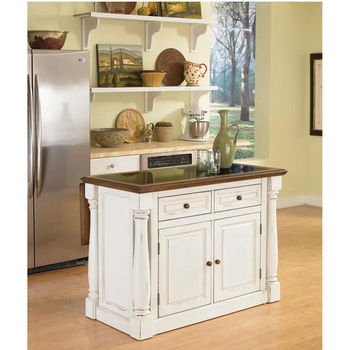 Home Styles Monarch Collection Kitchen Islands Carts