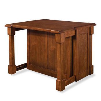 Home Styles Aspen Kitchen Island, Rustic Cherry