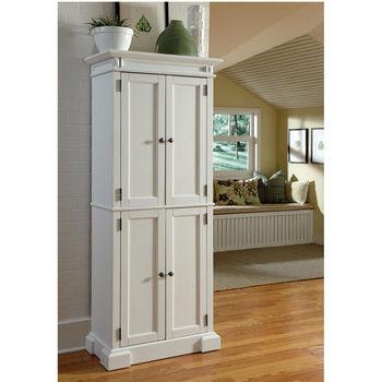 Home Styles Americana Pantry, White
