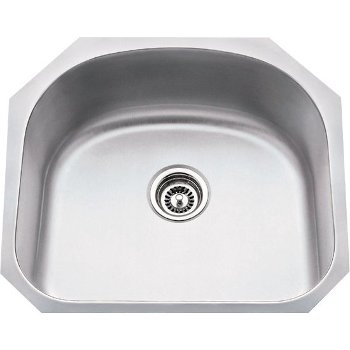 """Hardware Resources 23-1/4"""" Wide 18 Gauge 304 Stainless Steel Large Utility Sink, 23-1/4"""" W x 20-7/8"""" D x 9"""" H"""