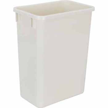 35 Quart White Bin