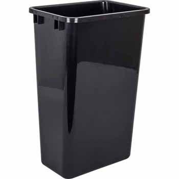 50 Quart Black Bin