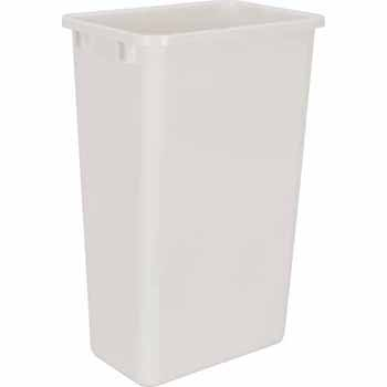 50 Quart White Bin