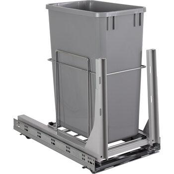 Single 35qt Trashcan Pullout - Display