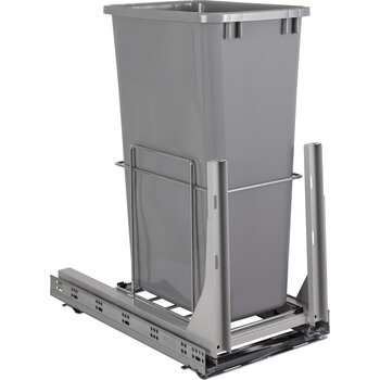 Single 50qt Trashcan Pullout - Display