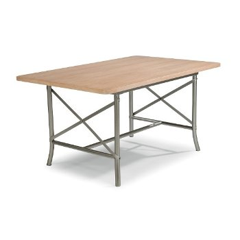 Aged White Washed Dining Table