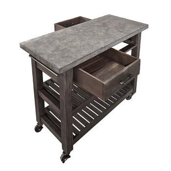 Concrete Chic Collection - Kitchen Cart