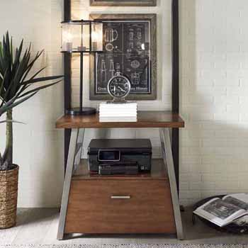 """Home Styles Degree Home Office File Cabinet, Modern Brown, 32""""W x 20""""D x 30""""H"""