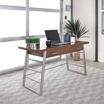 "Home Styles Degree Home Office Desk, Modern Brown, 54""W x 24""D x 30""H"