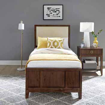 Twin Bed & Night Stand
