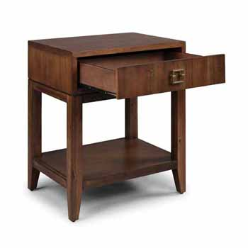 """Home Styles Bungalow Night Stand, Medium Brown, 24""""W x 18""""D x 28""""H"""